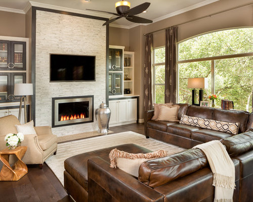 Houzz  Zero Clearance Fireplace Home Design Design Ideas & Remodel ...