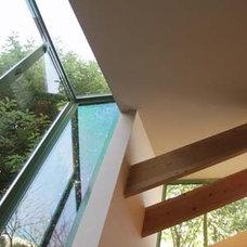 Contemporary Family Room by Glenn Robert Lym Architect
