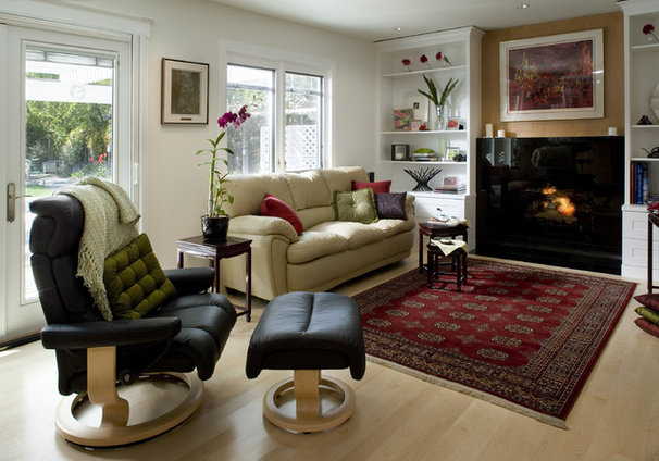 Contemporary Family Room by Harrell Remodeling