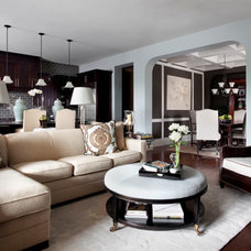 Family Room by Heather Scott Home & Design