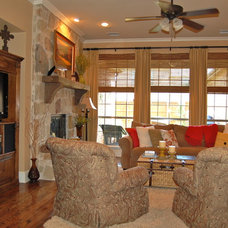 Traditional Family Room Family Room