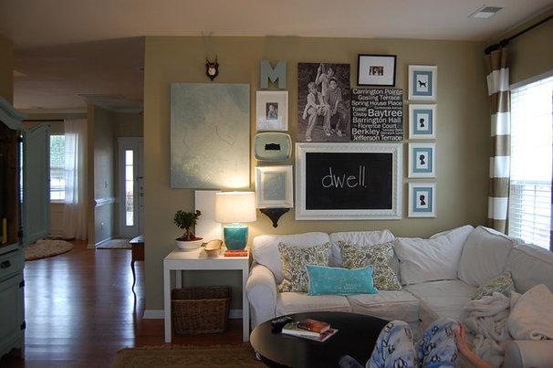 Contemporary Family Room Family Room