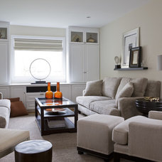 Contemporary Family Room Family Room
