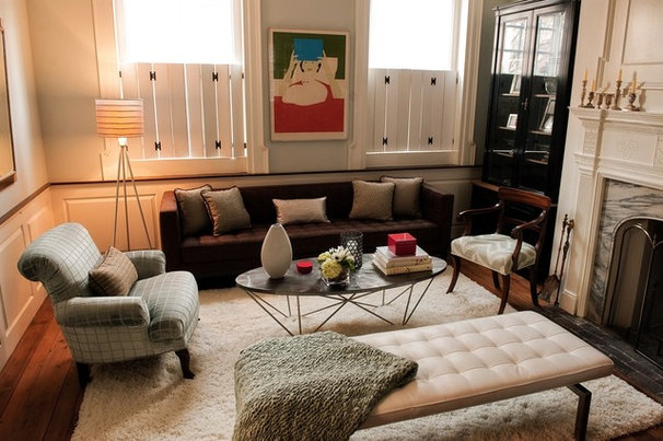 Eclectic Family Room Family Room
