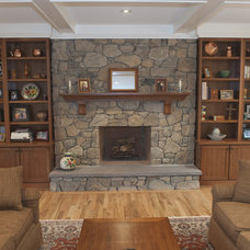 Family Room by Pine Street Carpenters & The Kitchen Studio