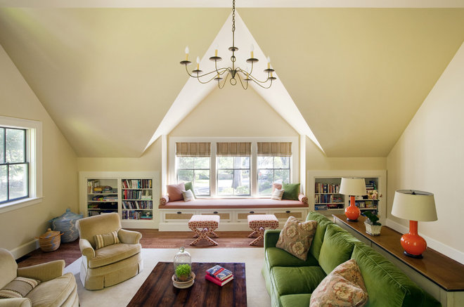Traditional Family Room by Jacob Lilley Architects