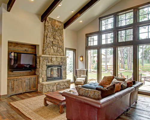 tv next to fireplace home design ideas  pictures  remodel and decor