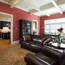 Traditional Family Room by Karen Beam Architect LLC