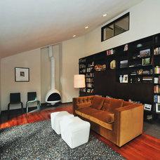 Contemporary Family Room by MusaDesign Interior Design
