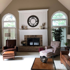 Traditional Family Room by LMR Designs, LLC