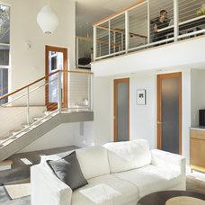 Modern Family Room Family Room Loft