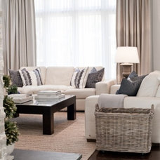 Traditional Family Room by Lux Decor