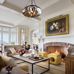 75 Most Popular Huge Traditional Family Room Design Ideas