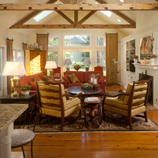 Traditional Family Room by Maria K. Bevill Interior Design