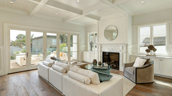 Family Room- Meticulously Detailed Cape Cod Home in Manhattan Beach, CA