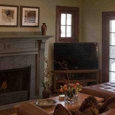 Contemporary Family Room by Metro Interiors