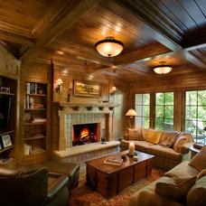 Family Room by Murphy & Co. Design