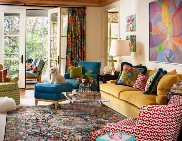 Traditional Family Room by Nancy Taylor Lynch Interior Design, Inc.