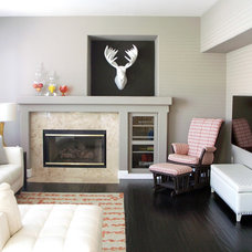 Contemporary Family Room by Nina Jizhar