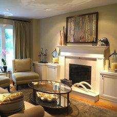 Contemporary Family Room by Chic Decor & Design, Margarida Oliveira