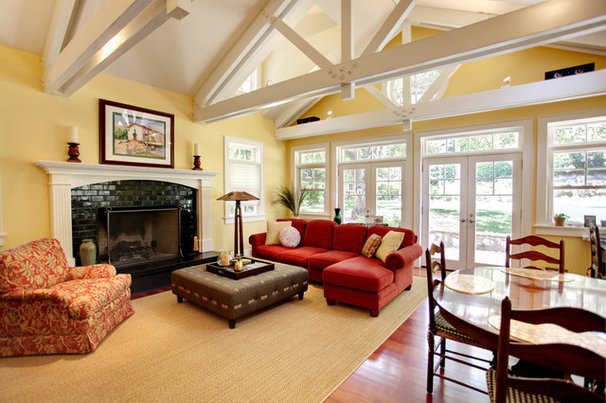 Traditional Family Room by Stephanie Wiley Photography
