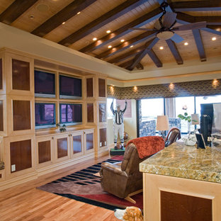 Family Room | Seven Hills | 02104 by Pinnacle Architectural Studio