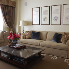 Traditional Family Room by Stephens Design Group
