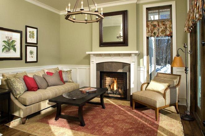 Craftsman Family Room by Stonewood, LLC