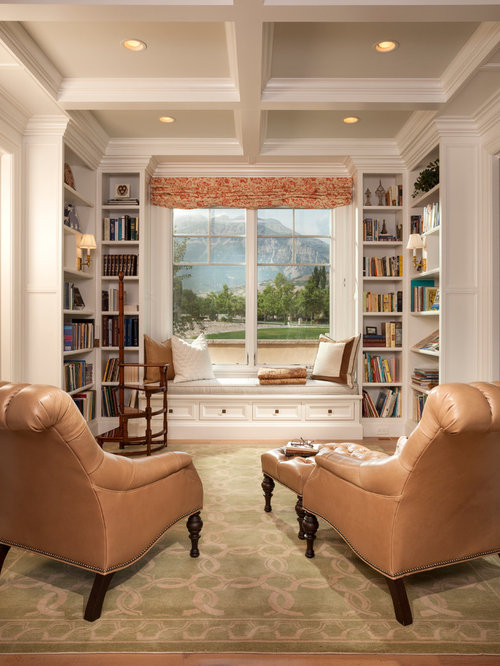 Library Window Seat Ideas Pictures Remodel And Decor