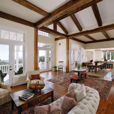 Traditional Family Room by Tom Meaney Architect, AIA