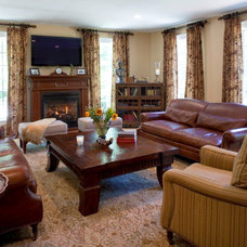 Traditional Family Room by Twice As Nice Interiors