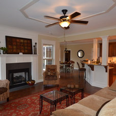 Traditional Family Room by Twickenham Homes & Remodeling
