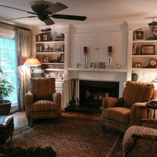 Traditional Family Room by Rejoyce Interior Design