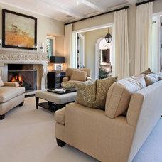 Modern Family Room by von Hemert Interiors