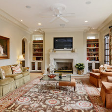 Traditional Family Room by Wellborn Inc.