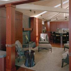 Contemporary Family Room by Doug Burch