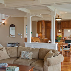 Traditional Family Room by DK Martin Construction