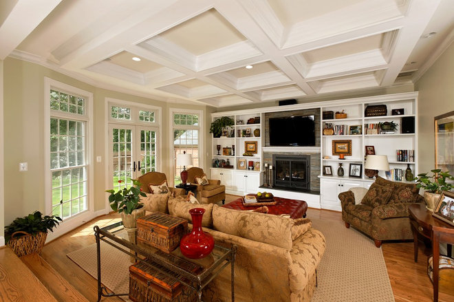 Family Room by Christine Kelly / Crafted Architecture