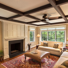 Traditional Family Room by Bennett Frank McCarthy Architects, Inc.