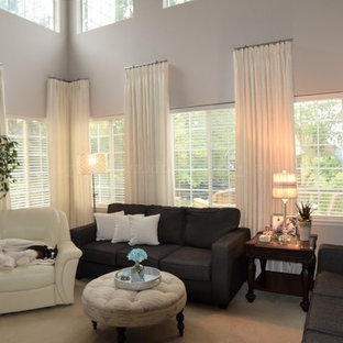 Family Room With Tall Windows Update