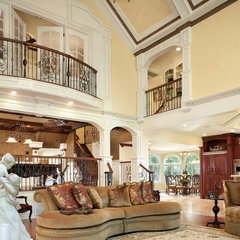 traditional family room by Creative Design Construction, Inc.