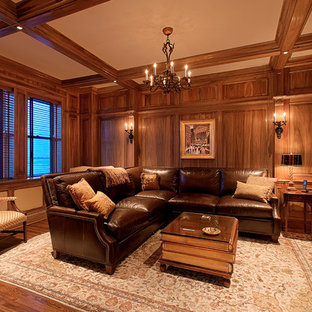 Family Room with Willow Wood Panelling