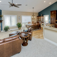 Family Room by Ironwood Homes