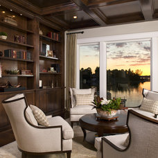 beach style family room by Stonewood, LLC