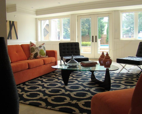 Navy Blue And Orange Home Design Ideas Pictures Remodel