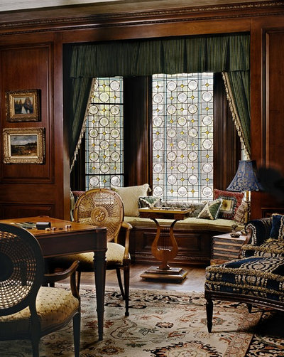 Victorian Family Room by Just Joh