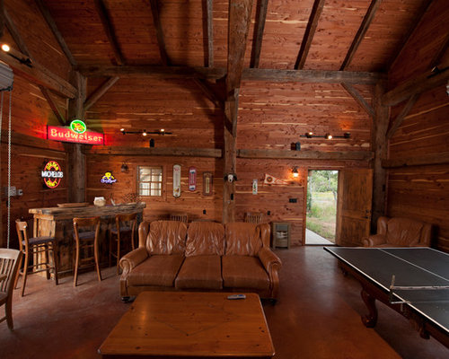 Vikings Man Cave Ideas : Fultonville barn