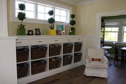 Eclectic Family Room by Deer Creek Studio