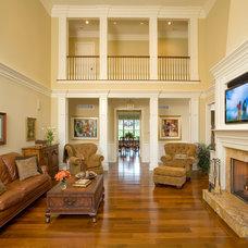 Traditional Family Room by Worthington Custom Builder Inc.