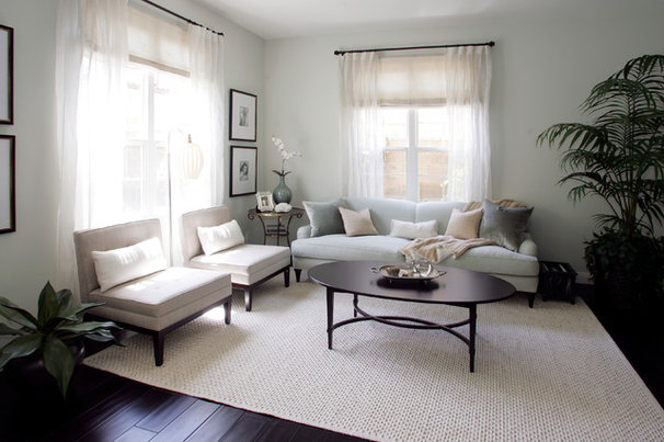 Traditional Family Room by Plural Design Inc.